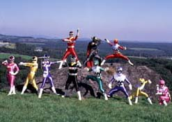 Power Rangers Casts
